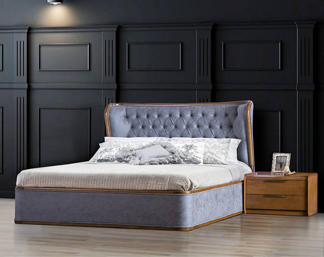 تصویر تخت خواب دو نفره سزار